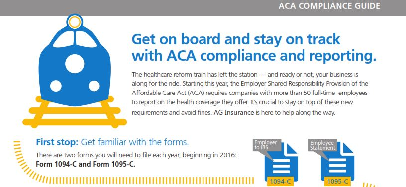 Infographic Aca Reporting On 1094 C And 1095 C